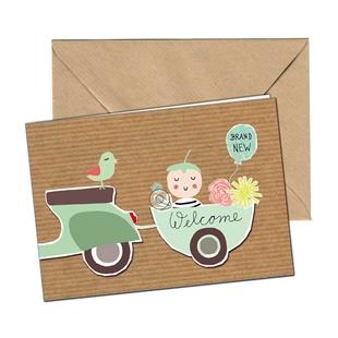Obrázek výrobku pro 'Pohlednice SIP Welcome BabyTitle'