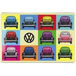 Obrázek výrobku pro 'Plechová cedule VW Collection VW Beetle - MulticolorTitle'