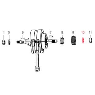 Obrázek výrobku pro 'Podložka spojka (síla) 3,0mm, LMLTitle'