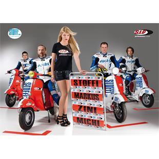 Obrázek výrobku pro 'Plakát Stoffi - SIP SCOOTERSHOP Racing Team 2011Title'