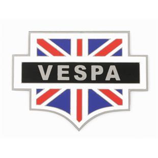 """Obrázek výrobku pro 'Plaketa s motivem Vespa """"Union Jack""""Title'"""