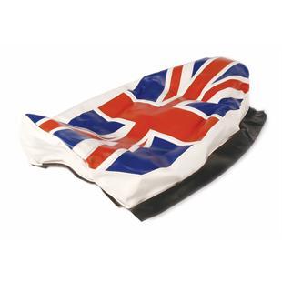 """Obrázek výrobku pro 'Potah sedla """"Union Jack""""Title'"""