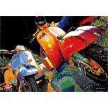 """Obrázek výrobku pro 'Plakát SIP s motivem """"Vespa 70s II"""" XXLTitle'"""