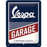 Obrázek výrobku pro 'Plechová cedule Vespa GarageTitle'