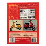 Obrázek výrobku pro 'Příručka HAYNES Vespa P/PX125, 150 & 200 (inkl. LML Star 2T) '78-'14 Service & Repair ManualTitle'