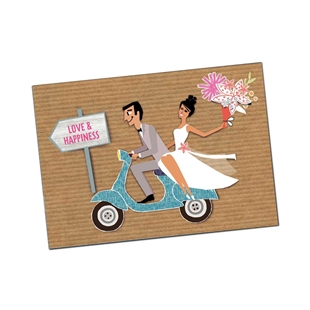 Obrázek výrobku pro 'Pohlednice SIP Love & HappinessTitle'