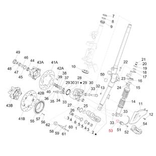Obrázek výrobku pro 'Podložka Snímač rychlosti, PIAGGIOTitle'