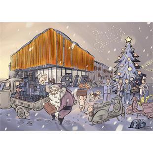 """Obrázek výrobku pro 'Pohlednice SIP """"Veselé Vánoce""""Title'"""