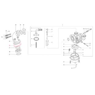 Obrázek výrobku pro 'Těsnění LML sací hrdlo/motorTitle'