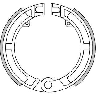 """Obrázek výrobku pro 'Brzdové čelisti POLINI 8""""/9""""/10"""", vpředuTitle'"""