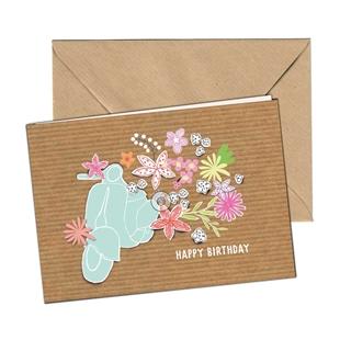 Obrázek výrobku pro 'Pohlednice SIP Happy Birthday GirlTitle'