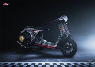 Obrázek výrobku pro 'Plakát SIP Vespa Something Special Racer, 25 Jahre SIPTitle'