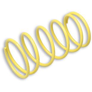 Produktbild für 'Gegendruckfeder MALOSSI gelb, Härte: 7,3k, (d) 5,7mm, L 153mm, Ø 77,2mm'