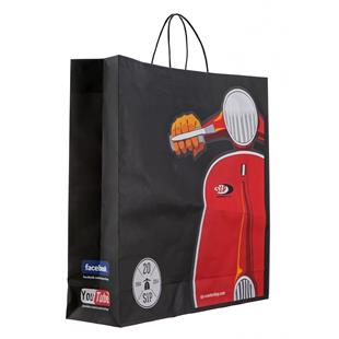 Produktbild für 'Tüte SIP Milano mit Motiv Vespa Motorroller'