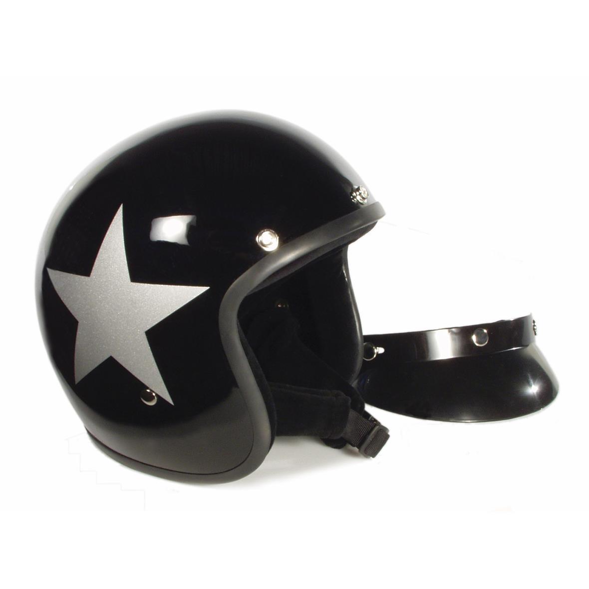 Produktbild für 'Helm BANDIT Jet Star mit silbernem Stern'