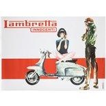 Produktbild für 'Poster Lambretta LIS 150'