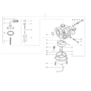 Produktbild für 'Klemme LML Nadelclip'