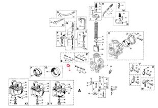 Produktbild für 'Rändelknopf DELL'ORTO'