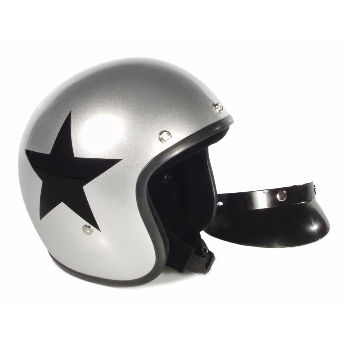 Produktbild für 'Helm BANDIT Jet Star mit schwarzem Stern'