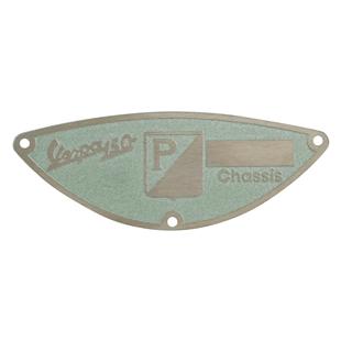 """Produktbild für 'Typenschild """"PIAGGIO ACMA Paris""""'"""