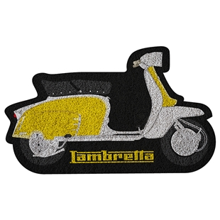 Produktbild für 'Fußmatte FORME mit rutschfester PVC Unterlage Lambretta'