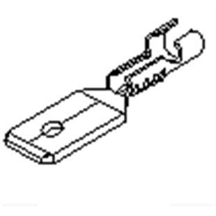 Produktbild für 'Kabelstecker für 0,5-1,0mm² Kabel'