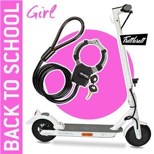 """Εικόνα προϊόντος για 'E-Scooter """"BACK TO SCHOOL"""" Bundle TRITTBRETT EMMA CityTitle'"""