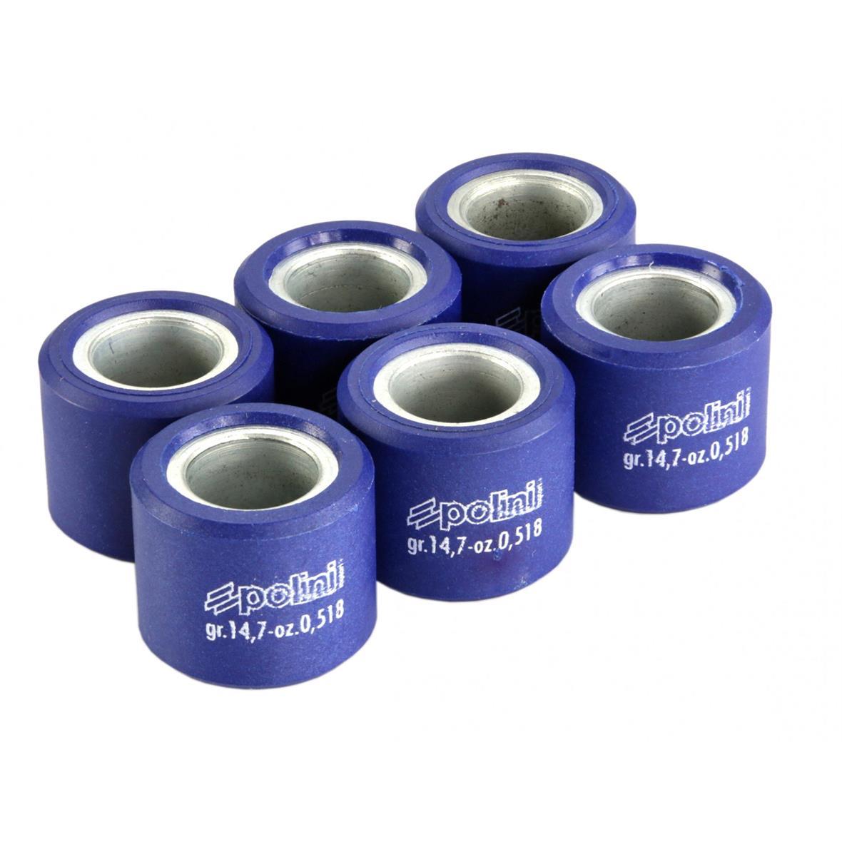 Εικόνα προϊόντος για 'Ράουλα Βαριατόρ POLINI 23x18 mm 14,8 γραμμάριοTitle'