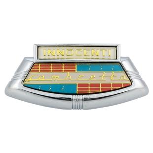 Εικόνα προϊόντος για 'Έμβλημα INNOCENTI Lambretta Μουτσούνα (γραβάτα)Title'