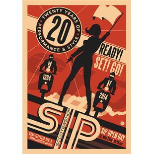 Εικόνα προϊόντος για 'Πόστερ SIP 20 years SIP Open Day 2014Title'