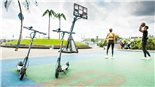 Εικόνα προϊόντος για 'E-Scooter THE URBAN #HMBRG V3Title'