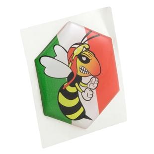 Εικόνα προϊόντος για 'Έμβλημα Αγριεμένη σφήκα Μουτσούνα (γραβάτα)Title'