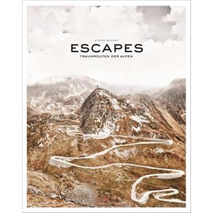 """Εικόνα προϊόντος για 'Βιβλίο """"Escapes"""" Traumrouten der AlpenTitle'"""