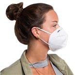 Εικόνα προϊόντος για 'Αναπνευστική μάσκα, KN95 FFP2Title'