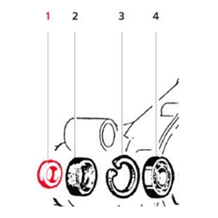 Εικόνα προϊόντος για 'Τάπα ροδέλα LMLTitle'