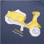 Εικόνα προϊόντος για 'Μπλουζάκι SIP LAMBRETTA –gives you SX appeal Μέγεθος LTitle'