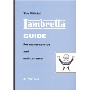 Εικόνα προϊόντος για 'Εγχειρίδιο Lambretta The official Lambretta Guide for owner-service and maintenanceTitle'