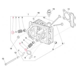 Product Image for 'Spring Attachment PIAGGIO valve, topTitle'