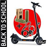 "Product Image for 'E-Scooter ""BACK TO SCHOOL"" Bundle TRITTBRETT Kalle with (olive green) VANS grips and Materlock StreetcuffTitle'"