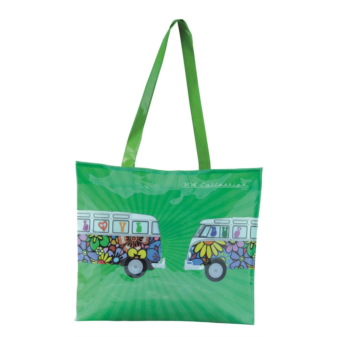 """Product Image for 'Shopping Bag VW Collection VW Bus """"Love Bus""""Title'"""