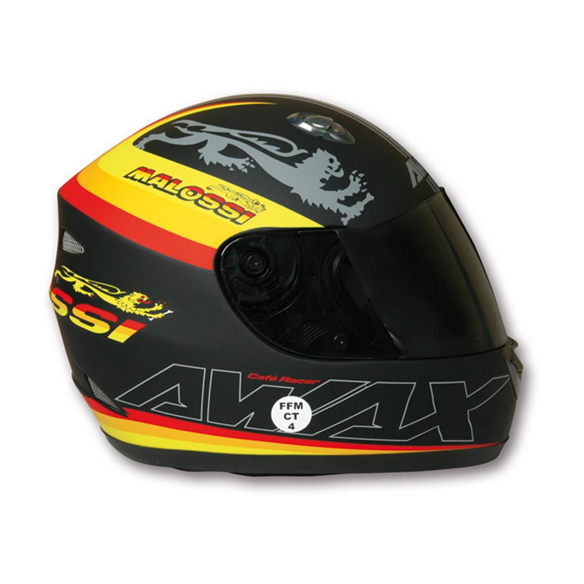 """Product Image for 'Helmet MALOSSI Full Face """"Café Racer Malossi""""Title'"""