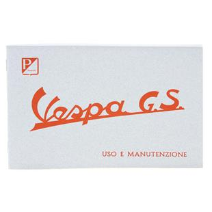 Product Image for 'Instruction Manual PIAGGIO Vespa GS150 1956/57/58Title'