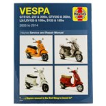 Product Image for 'Hand Book VESPA GTS125/250/300ie/GTV250/300ie/LX/LXV125/125ie/S125/150ie 05-14 service & repair manualTitle'