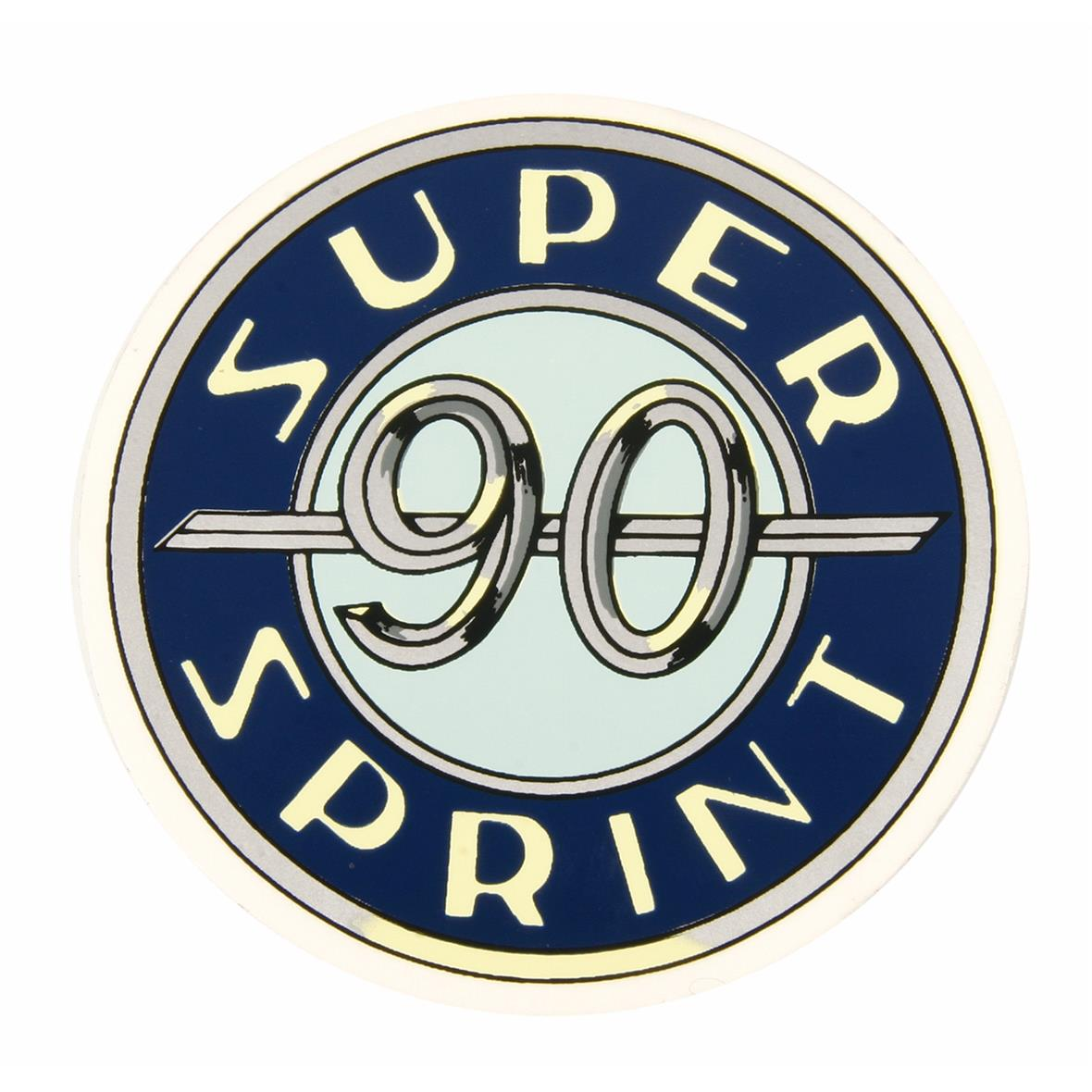 "Product Image for 'Emblem ""Super Sprint 90""1° series, self-adhesive, *outof production*Title'"