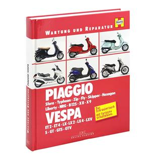 "Product Image for 'Hand Book PIAGGIO/​VEPSA Sfera/​Typhoon/​ZIP/​Fly/​Skipper/​ HEXAGON/​Liberty/​NRG/​B125/​X8/​X9/​ET2/​ET4/​LX/​LX2/​LX4/​LXV/​S/​GT/​GTS/​GTV"" service & repairsTitle'"