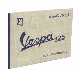 Product Image for 'Instruction Manual PIAGGIO Vespa 125 - 150 Super 1965Title'
