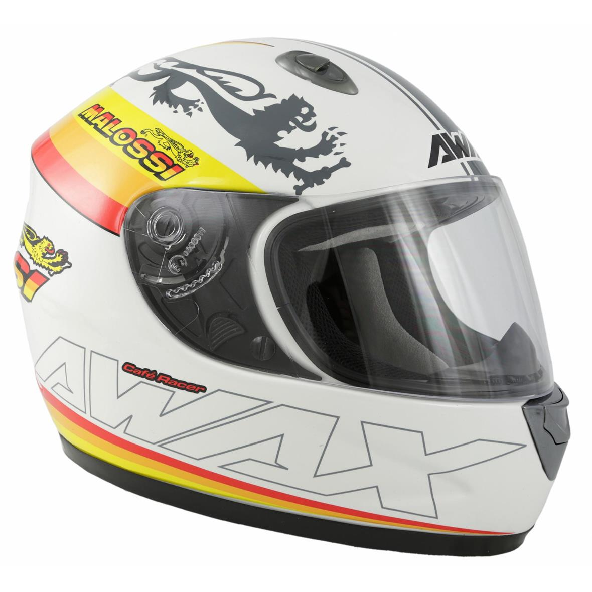 "Product Image for 'Helmet MALOSSI Full Face ""Café Racer Malossi""Title'"