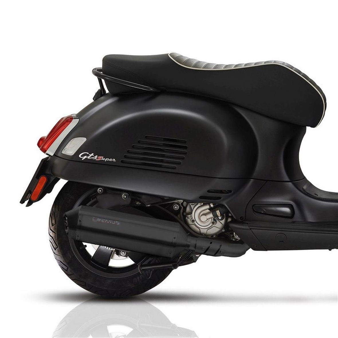 Racing Exhaust Remus Notte Limited Edition For Vespa Gts Gts Sup