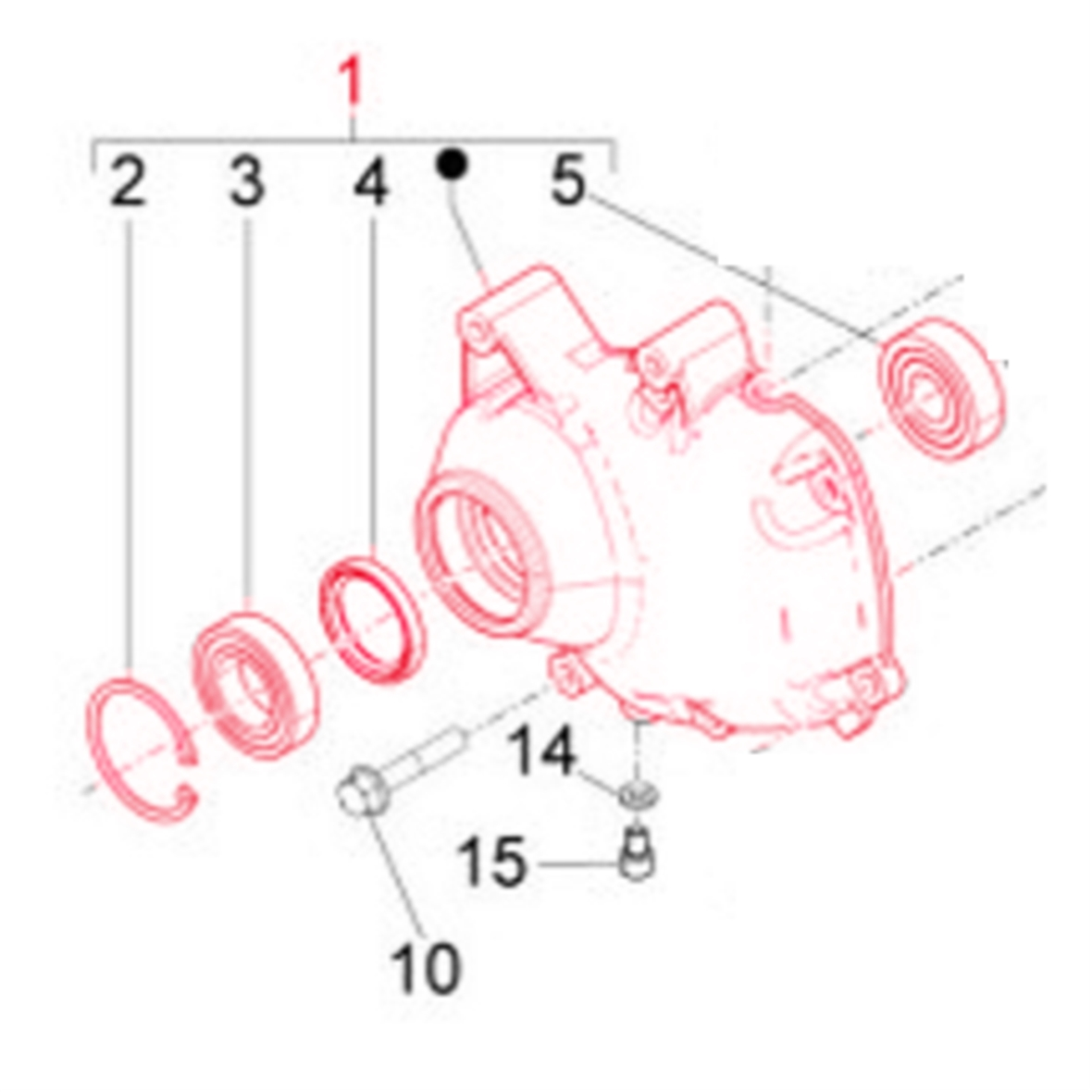 Product Image for 'Gearbox Cover PIAGGIOTitle'