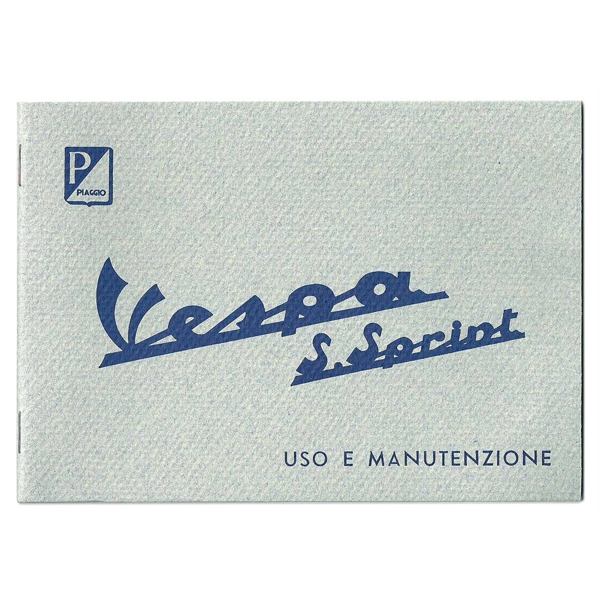 Product Image for 'Instruction Manual PIAGGIO Vespa SS90Title'